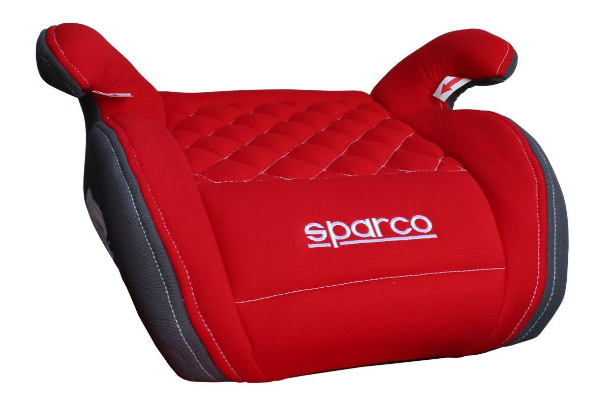 Fotelik Dziecięcy Samochodowy SPARCO F100K PIKOWANY ( 9-36kg ) - GRUBYGARAGE - Sklep Tuningowy